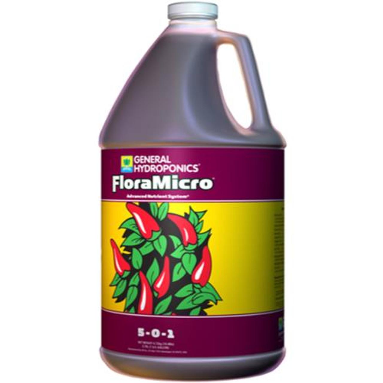 General Hydroponics® FloraMicro® 5 - 0 - 1 Gallon