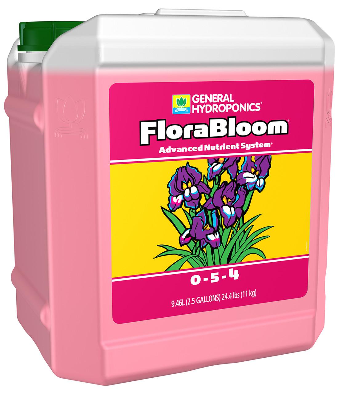 General Hydroponics® FloraBloom® 0 - 5 - 4  2.5Gallon