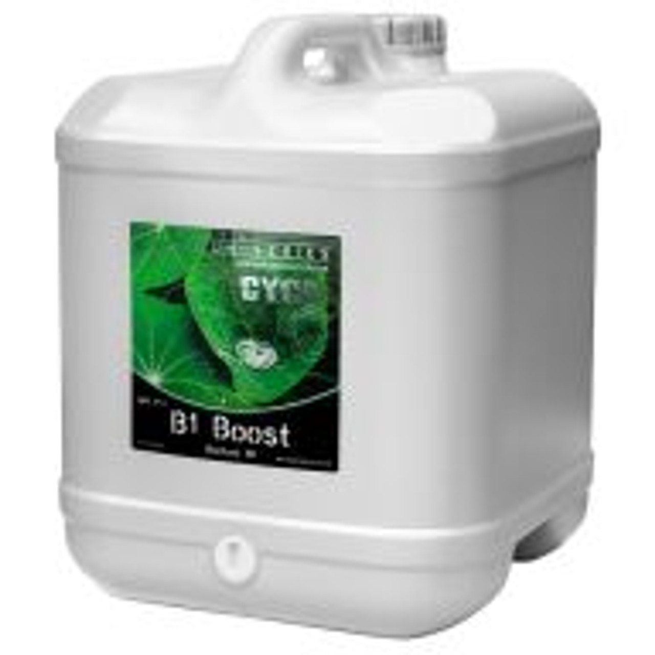 """Cyco B1 Boost helps to stimulate the growth of roots at any time in a plant's life cycle. B1 Boost is seen as an """"insurance policy,"""" as it is difficult to determine if an underperforming plant is capable of producing B1 in sufficient amounts. The phosphorus in B1 Boost aids in the process of photosynthesis, the formation of oils, sugars and starches, and it encourages rapid growth and blooming."""