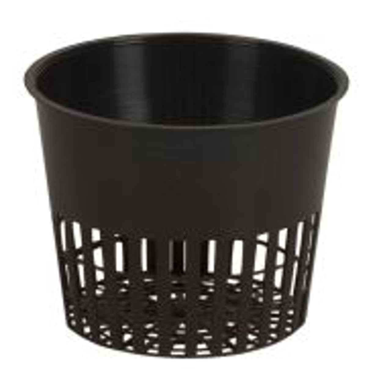 "These 3.5"" Flex Net Pots are fantastic for propagating seedlings and cuttings and will accommodate most types of media. Gardeners can insert these into their pre-fab or customized hydroponics system for premium performance."