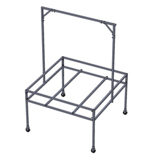 4x4 Tray Stand w/Hanging Bar