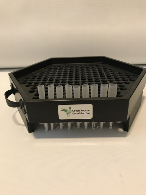 Green Rooster Cone Machine Filler Tray 1/2 gram
