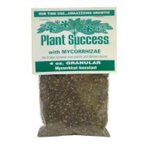 Mycorrhizal fungi spores are the special ingredient in all-natural Plant Success Growth Stimulant. These beneficial fungi protect plants' roots from many fungal diseases, improve soil structure and assist with nutrient uptake. The result: stronger, healthier plants and increased yields.