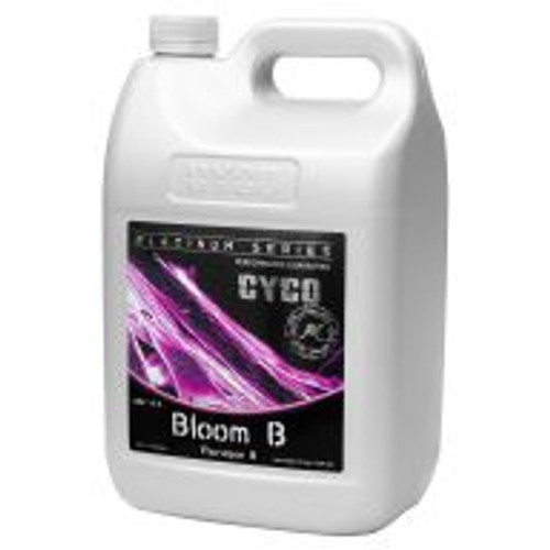 Cyco Bloom A and B provide potassium that aids in fruit quality, calcium for normal transport and retention of nutrients, and magnesium to help activate plant enzymes needed for growth. Together, every element in Bloom A and B plays a role in helping to produce the best quality fruit or flower within the bloom stage of a plant's life cycle.