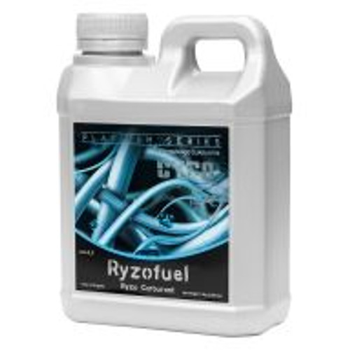 Cyco Ryzofuel (0-0-0.2), Australia's leading root stimulant designed for indoor and outdoor plants and seedlings, will rapidly accelerate new root growth. Add to any fertilizer program to achieve greener vigorous plant growth, set more flower sites, stimulate advanced flower growth, encourage more robust flowers and fruit, and increase new leaves and overall biomass. Use in foliar spraying to revive or help suffering potted plants, transplants, ornamentals, flowers, shrubs, natives, trees, seedlings and cuttings.