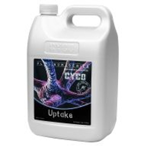 <b>Cyco Uptake</b> promotes increased cation exchange capacity and nutrient availability, as well as enhanced mineral and trace element balance. It also aids plant cells in excreting waste products, which promotes overall health.