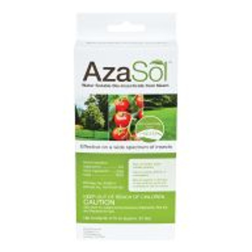 AzaSol is the first water-soluble powdered azadirachtin product developed for superior biologically-based insect control. AzaSol is a high-potency powder that's water soluble, solvent-free, and shelf stable for more than two years. It's intended for use indoors and out, and can be applied via soil drench, injection or spray. Studies show azadirachtin, derived from neem plants, to be a highly effective broad spectrum biological insect control and repellent that provides protection from insects ranging from annual bluegrass weevils to whiteflies.