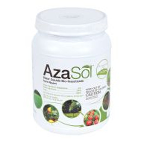 AzaSol is the first water soluble powdered azadirachtin product developed for superior biologically-based insect control. AzaSol is a high-potency powder that's water soluble, solvent-free, and shelf stable for more than two years. It's intended for use indoors and out, and can be applied via soil drench, injection or spray. Studies show azadirachtin, derived from neem plants, to be a highly effective broad spectrum biological insect control and repellent that provides protection from insects ranging from annual bluegrass weevils to whiteflies.