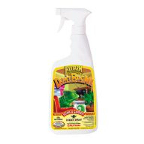 <P>Made with natural pyrethrum which is derived from chrysanthemum flowers, indoor and outdoor gardeners love Don't Bug Me because it kills most common insect pests on contact. Use Don't Bug Me insect spray on flowers, fruits, trees and shrubs. Safe for use on food crops up to the day of harvest. </P>