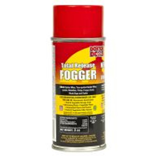 "Direct gardeners who want to get rid of garden pests to the Doktor Doom Total Release Fogger. The active ingredient, pyrethrin, is derived from chrysanthemums and proven to successfully control spider mites, aphids, whiteflies, fungus gnats, and more. When used as directed, this fogger is safe for use in greenhouses and indoor gardens, around all plants including fruits, vegetables, and ornamentals. The 3-ounce can treats a 3,000 cubic foot area. For application information, visit <a href=""http://www.doktordoom.com/php/application_tips.php?lang=English"" target=""blank"">http://www.doktordoom.com/php/application_tips.php?lang=English</a>"