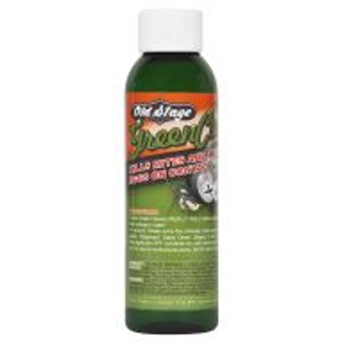 Green Cleaner kills spider mites and their eggs, predatory mites, aphids, white flies, broad mites and russet mites on contact. Unlike other pesticides, mites cannot become immune to Green Cleaner. This all-natural, 100 percent concentrate product can be used as a solution to dip tender new cuttings in, to prevent garden contamination when outsourcing plant starts, and can be used from start through harvest as a treatment. When used as a root drench be sure to reinoculate afterwards to avoid affecting beneficial insects.