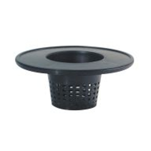 """Perfect for customized hydroponics systems, this sturdy Bucket Lid with 6"""" built-in basket fits any standard 5-gallon bucket."""