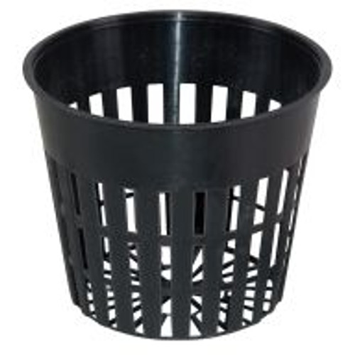 """These 3"""" Flex Net Pots are just the right size for starting seedlingsand propagating cuttings. They can accommodate most types of media, including 1"""" rockwool cubes, Oasis cubes, Super Starter plugs, Hydroton, peat pellets and more. These pots are a great way to start plants and bring smaller plants or herbs to maturity."""