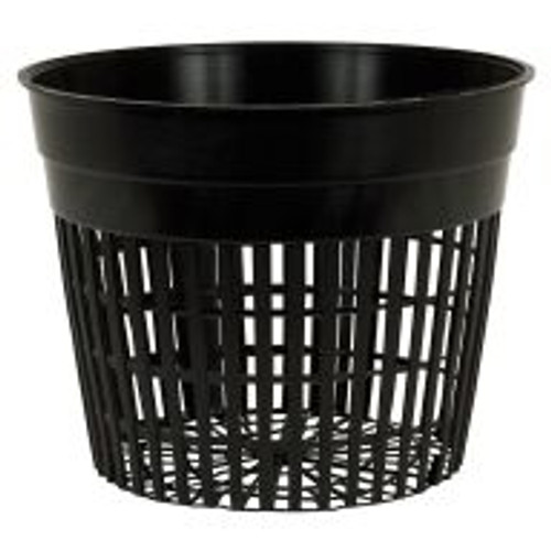 "These sturdy 5"" Flex Net Pots are fantastic for propagating seedlings and cuttings and will accommodate most types of media. Gardeners can insert them into their pre-fab or customized hydroponics system for premium performance."