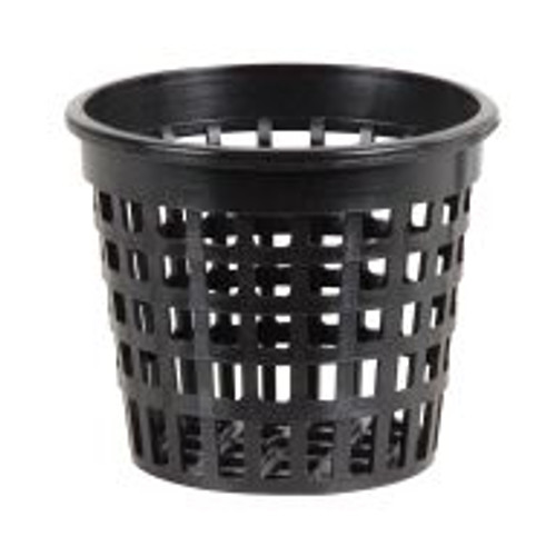 Fill them, use them, refill them, reuse them, repeat. These three-inch Heavy Duty Net Cups are built to last, but they're also built to grow! Though strong, their mesh bottoms are designed to promote root development, and these three-inch cups will even fit General Hydroponics' AeroFlo system.