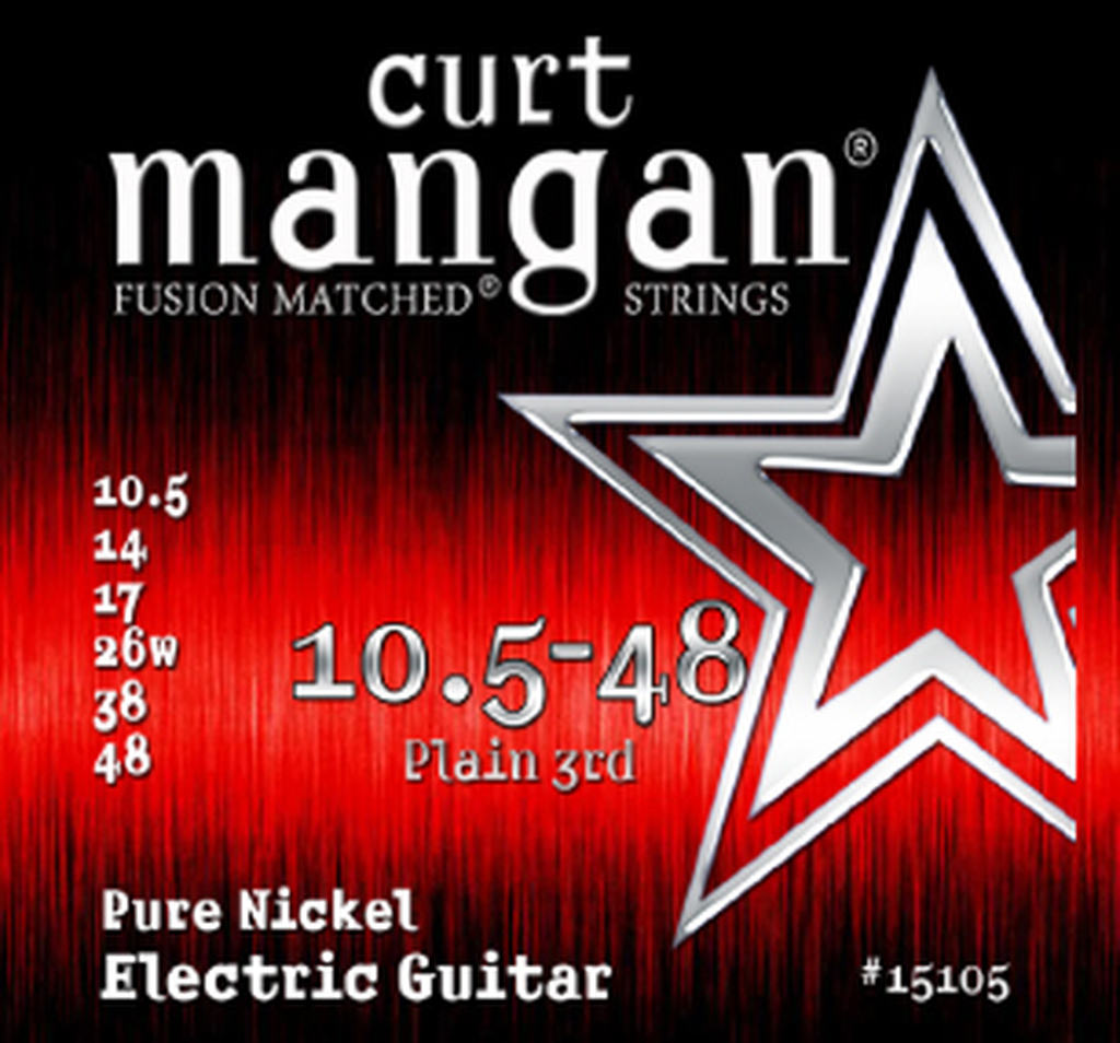 10.5-48 Pure Nickel Guitar String Set