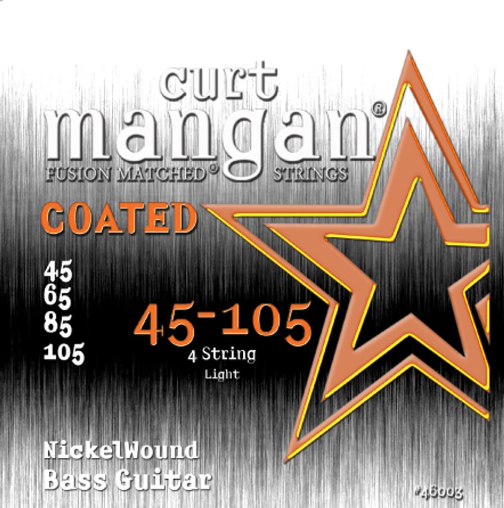 45-105 Nickel Bass Light COATED 4-String