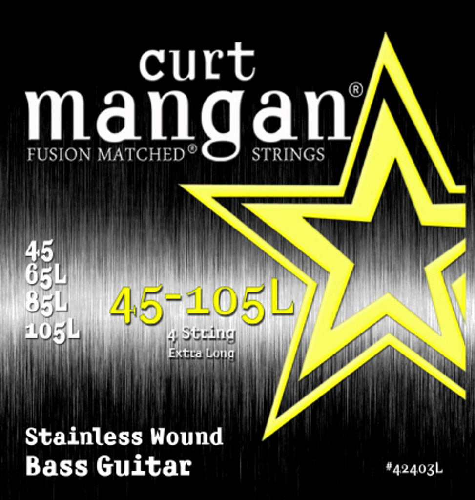 45-105 Extra Long Stainless 4 String