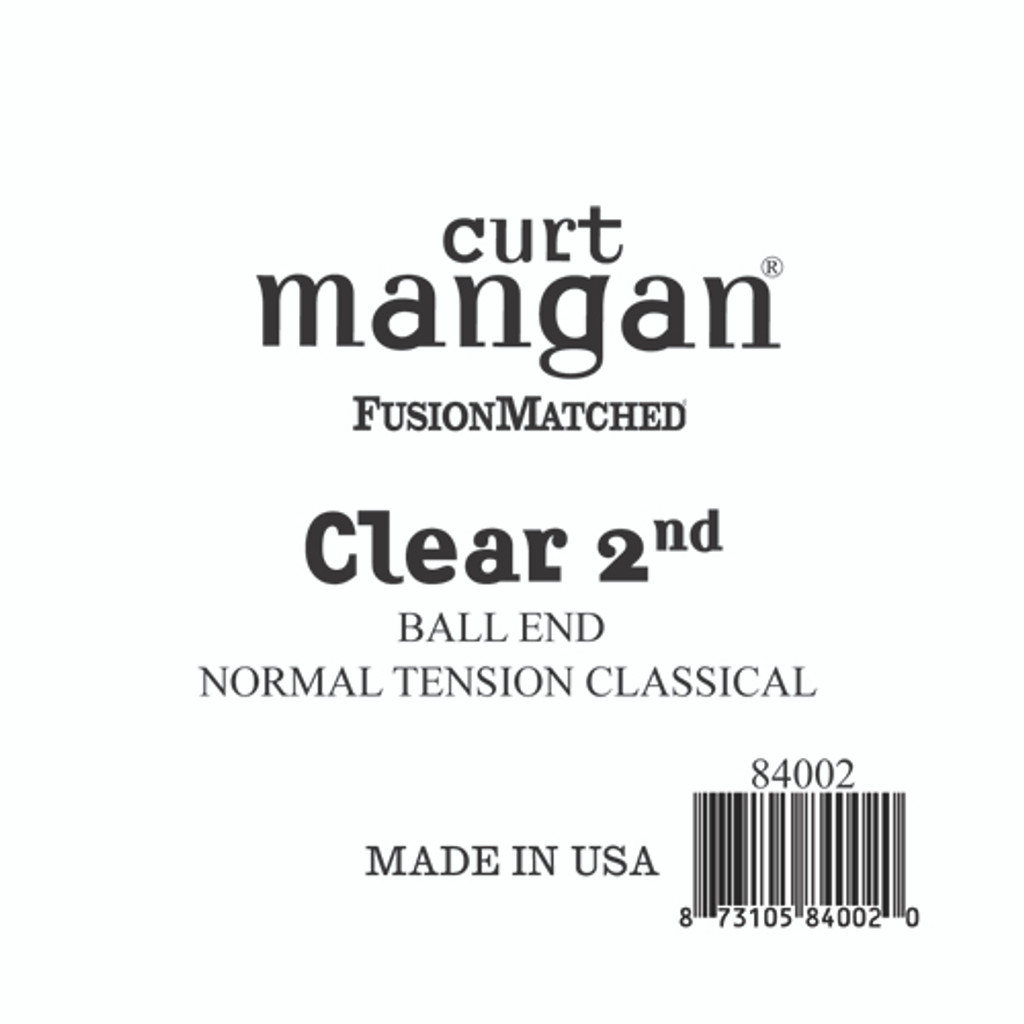 Clear 2nd Ball End Normal Tension Single String