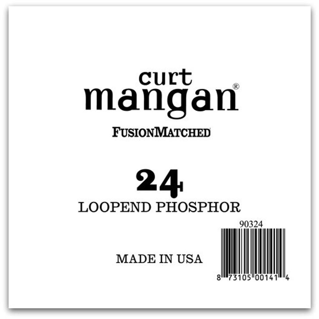 24 Loop End Phosphor Single String