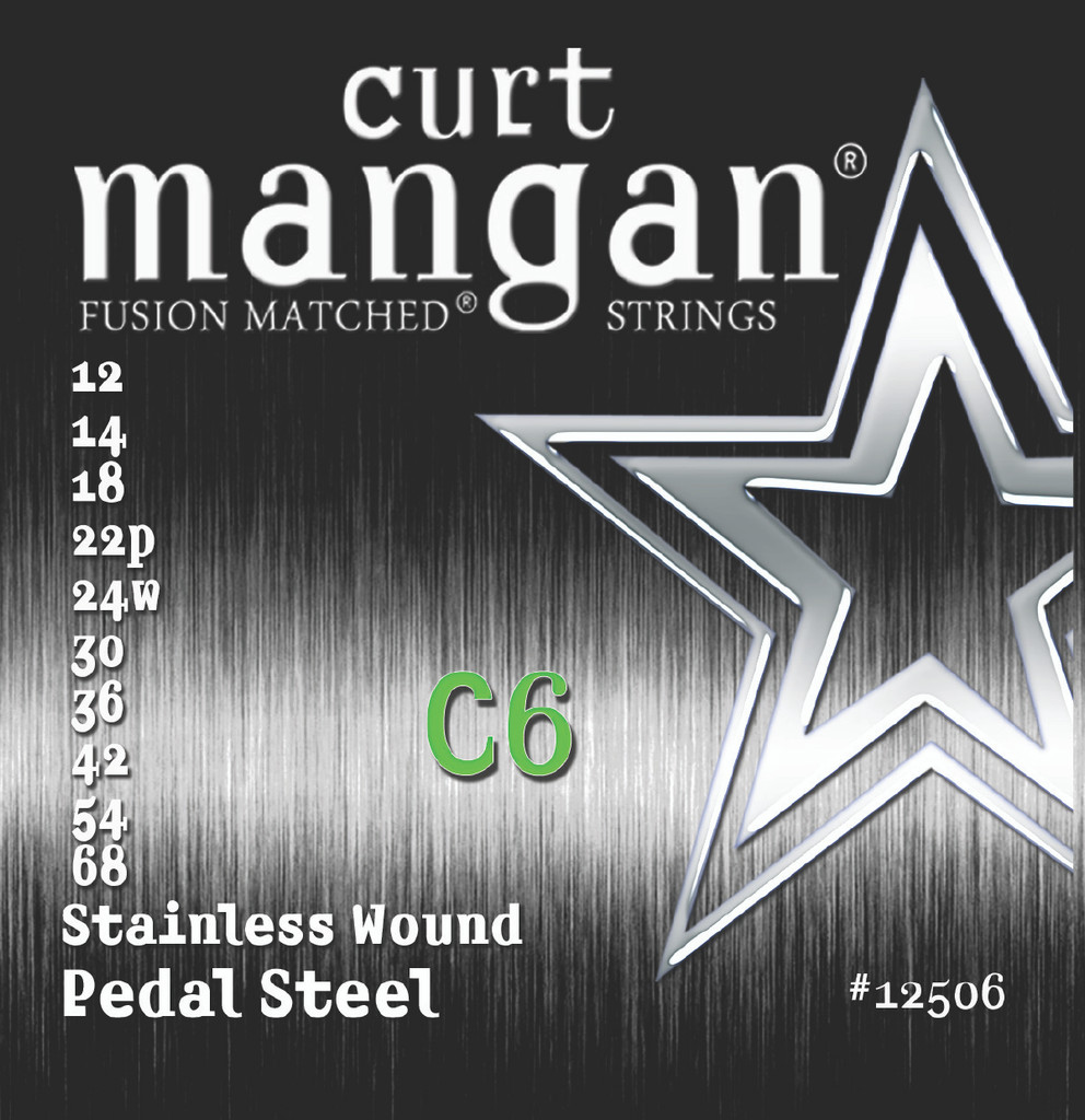 C6 Pedal Steel Stainless Wound
