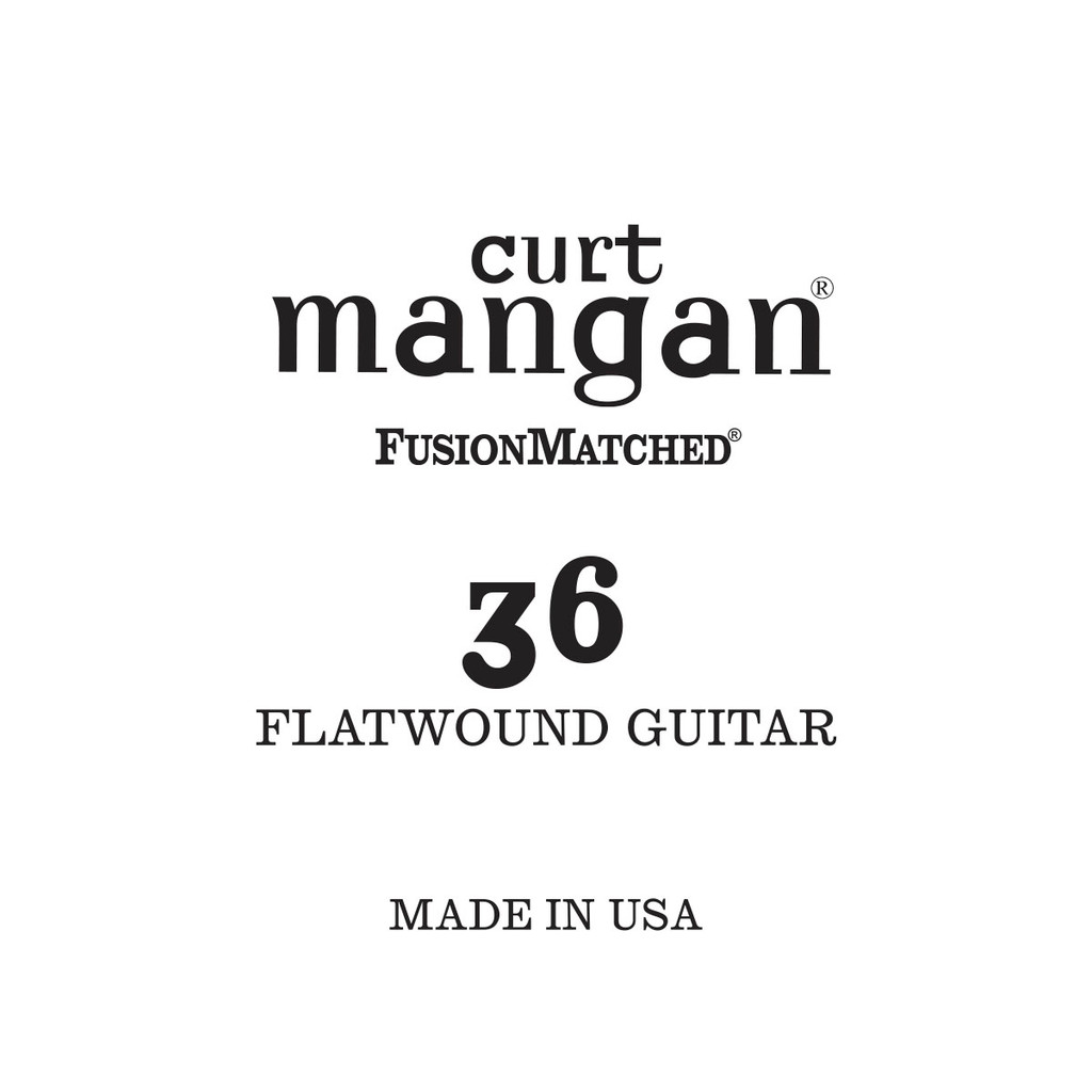 36 Flatwound Guitar Single String