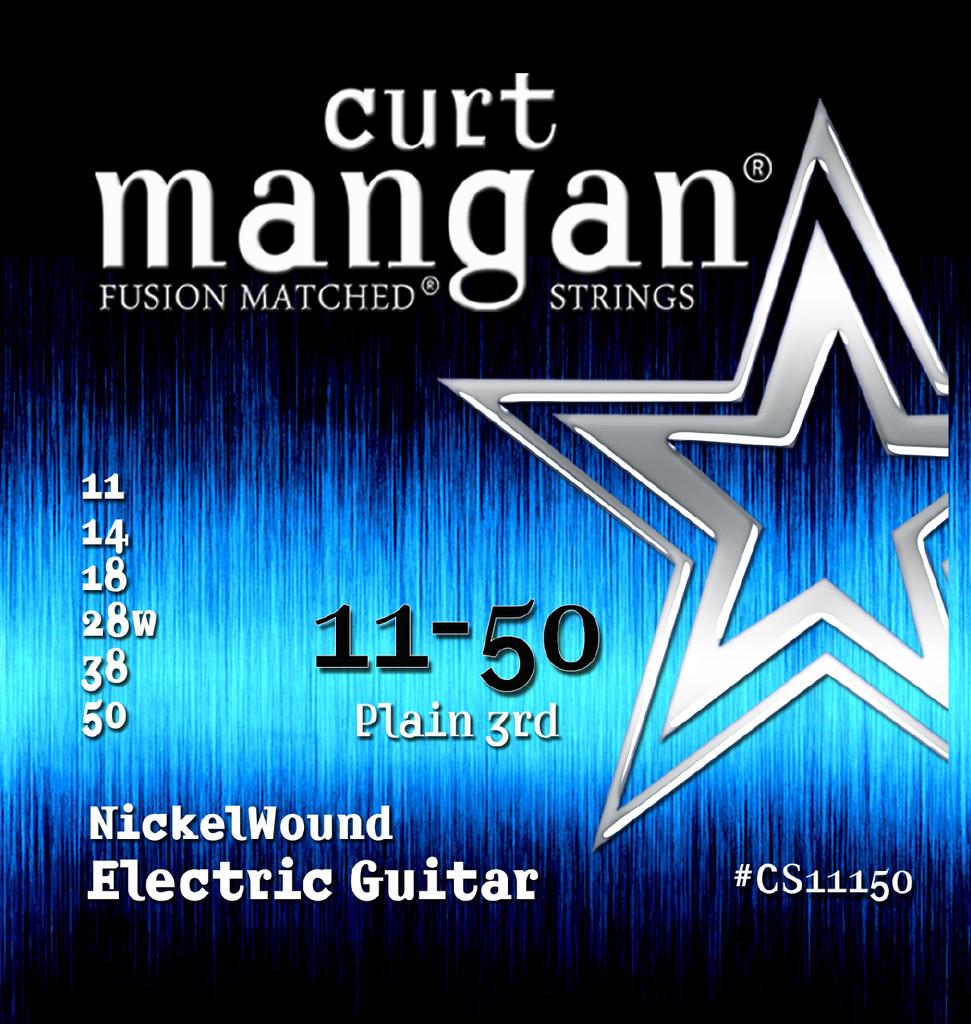 11-50 Nickel Wound Guitar String Set