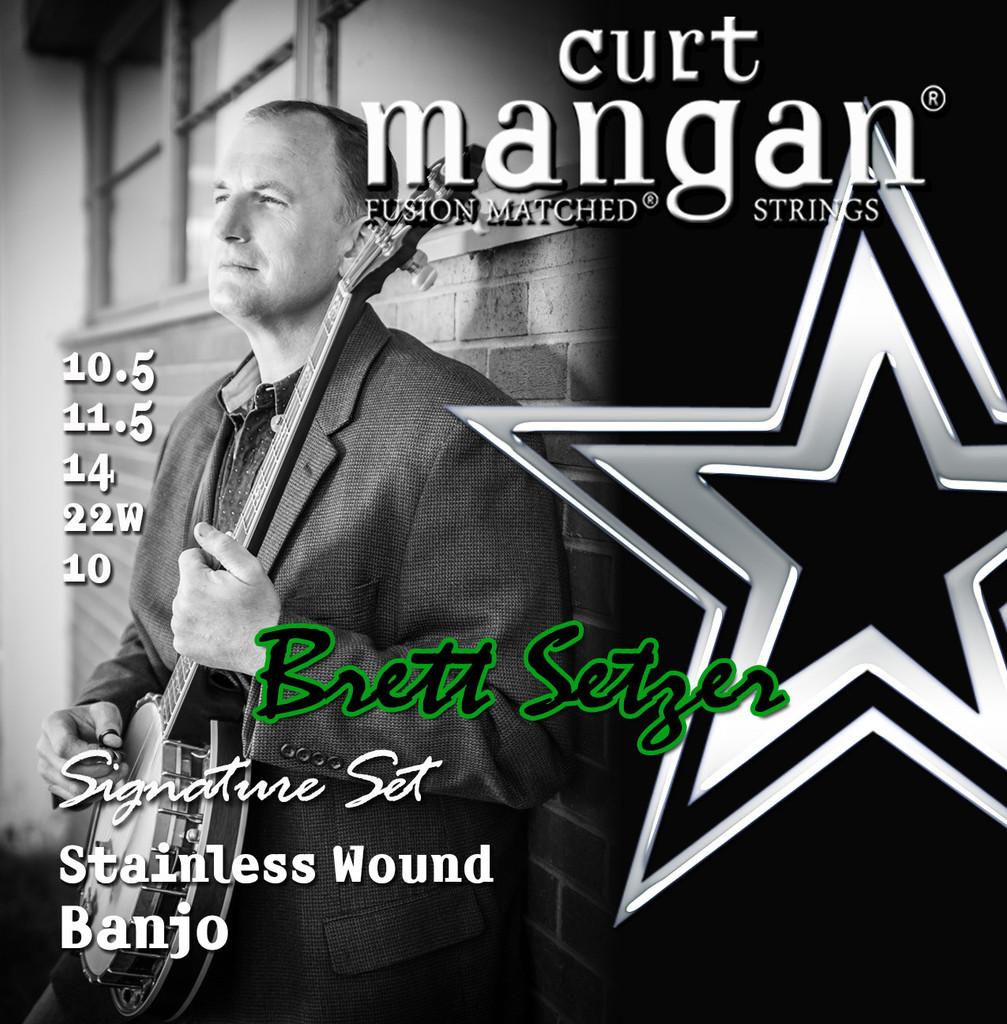 Brett Setzer 5-String Banjo Light Stainless