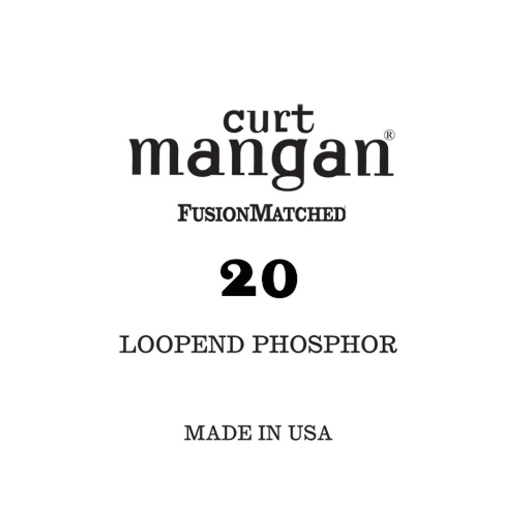 20 Loop End Phosphor Single String