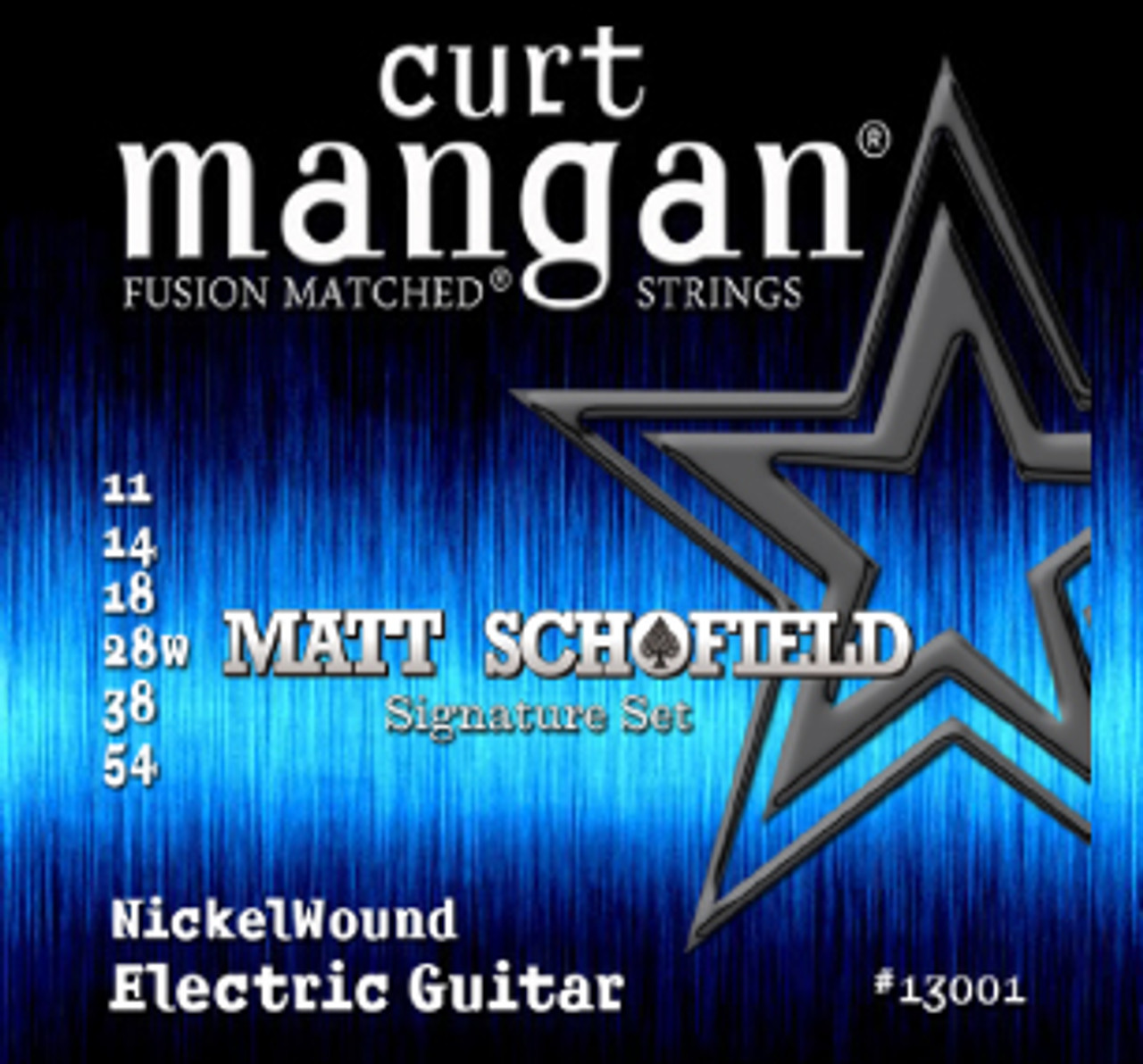 11-54 Curt Mangan  Matt Schofield Signature Electric Strings