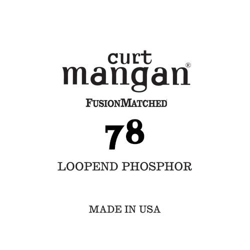 78 Loop End Phosphor Single String