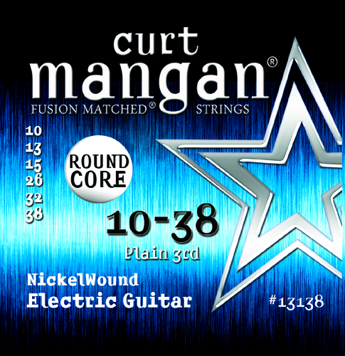 10-38 ROUND CORE Nickel Wound Guitar Strings