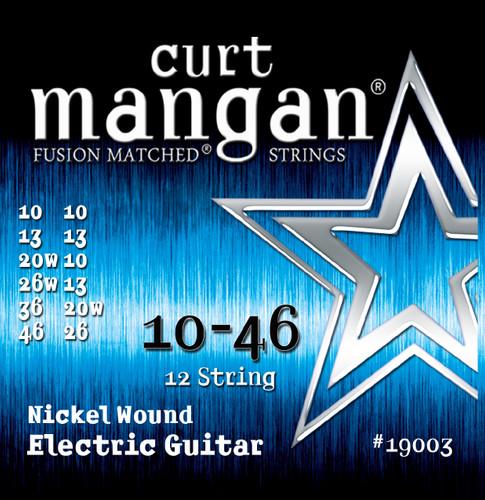 10-46 12-String Light Nickel Wound Set