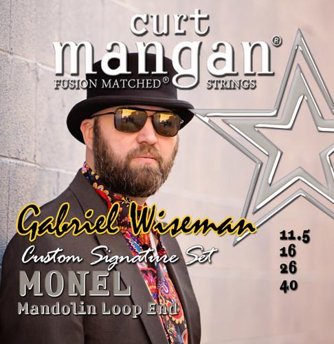 Gabriel Wiseman Custom Monel Mandolin 11.5-40