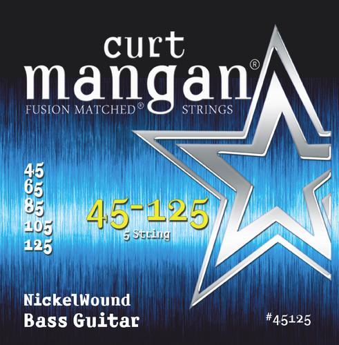 45-125 Nickel Bass 5-Strings