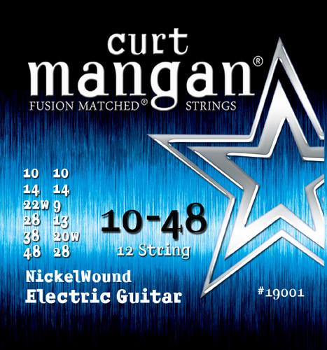 10-48 12-String Med-Light Nickel Wound Guitar String Set