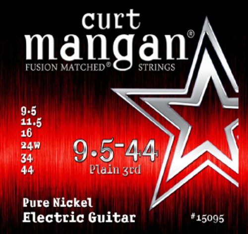09.5-44 Pure Nickel Guitar Strings