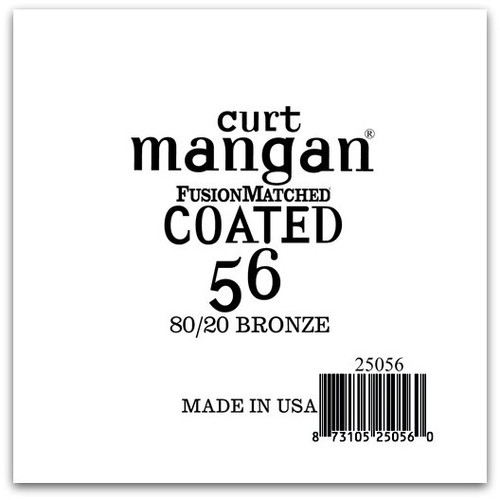 56 80/20 Bronze COATED Single String