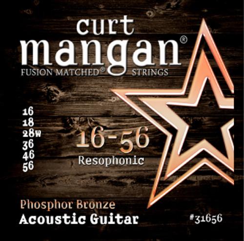 16-56 Phosphor Bronze Resonator Guitar Strings