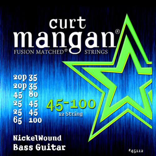 45-100 12-String Short Scale