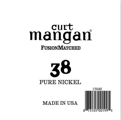 38 Pure Nickel Wound Single String