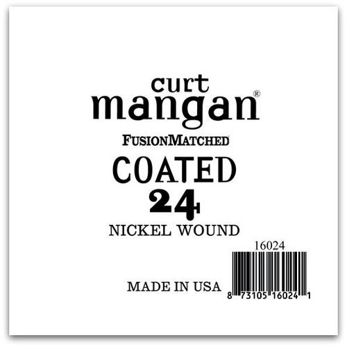 24 Nickel-Plated Steel COATED Single String
