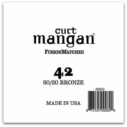 42 80/20 Bronze Single String