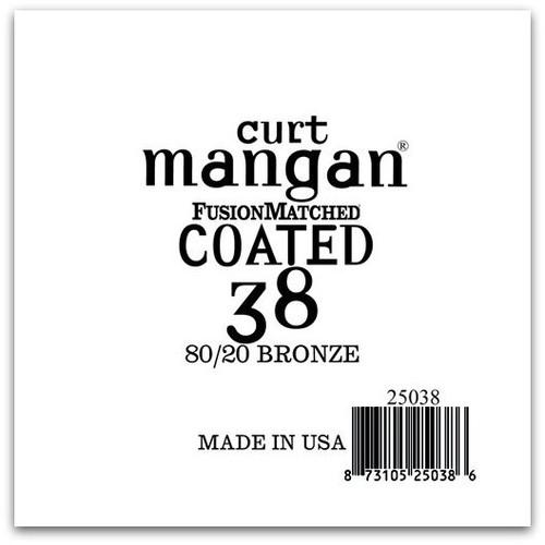 38 80/20 Bronze COATED Single String