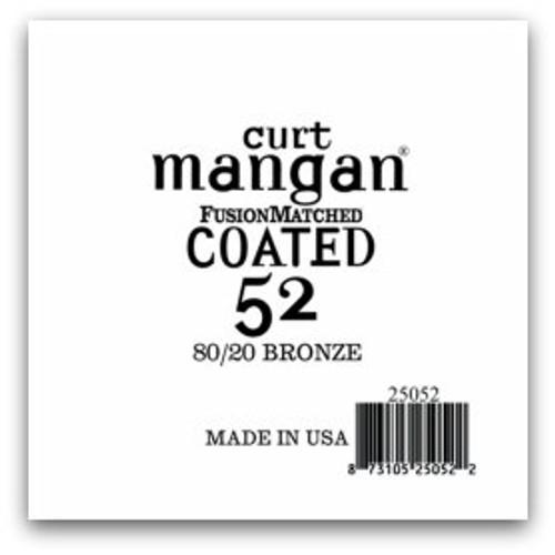 52 80/20 Bronze COATED Single String