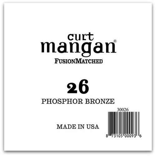 26 PhosPhor Bronze Single String