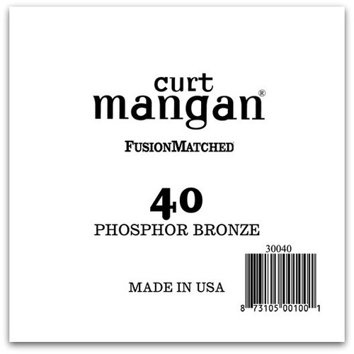 40 PhosPhor Bronze Single String