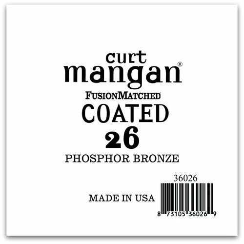 26 PhosPhor Bronze COATED Single String