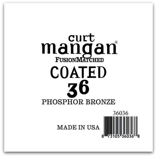 36 PhosPhor Bronze COATED Single String