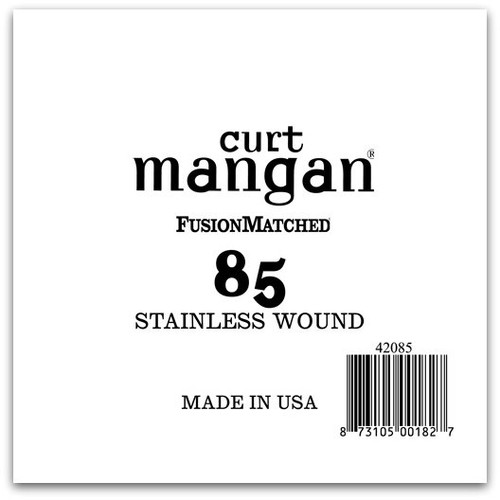 85 Stainless Wound Bass Single String